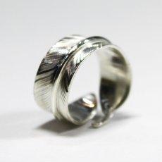 画像8: 指輪/フェザーリング/羽/silver950/7号〜30号 (8)