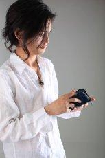 画像6: 【カラーオーダー対応】小銭入れ/コインケース/ラウンドファスナー仕様/ヌメ革 (6)