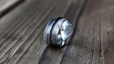 画像7: 指輪/フェザーリング/羽/silver950/7号〜30号 (7)