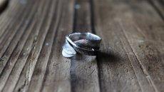 画像6: 指輪/フェザーリング/羽/silver950/7号〜30号 (6)