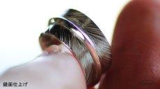 画像5: 指輪/フェザーリング/羽/silver950/1号〜6号/ピンキー (5)
