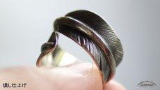 画像4: 指輪/フェザーリング/羽/silver950/1号〜6号/ピンキー (4)