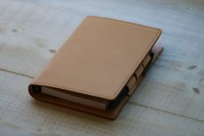 シンプルなレザーシステム手帳