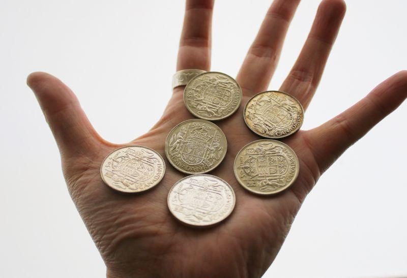 久しぶりにカナダ銀貨が入荷しました。