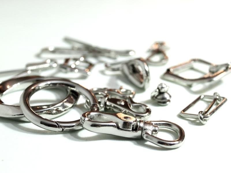 画像1: 定番金具(ニッケル製、鉄製、真鍮無垢製) (1)