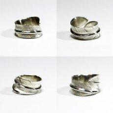 画像10: 指輪/フェザーリング/羽/silver950/7号〜30号 (10)