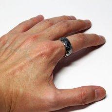 画像6: 指輪/コインリング/カナダ銀貨/大きい王冠/紋章/silver800 (6)