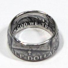 画像3: 指輪/コインリング/フランクリン銀貨/ハーフダラー/silver900 (3)