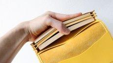 画像3: 【フルオーダー】長財布/100万円束/黄色 (3)