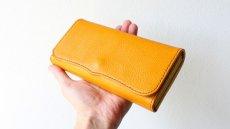 画像2: 【フルオーダー】長財布/100万円束/黄色 (2)