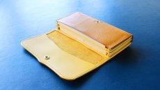 画像1: 【フルオーダー】長財布/100万円束/黄色 (1)