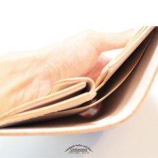 画像7: 【カラーオーダー対応】 財布/ミドルウォレット/スタンダードデザイン/牛革/ヌメ革 (7)