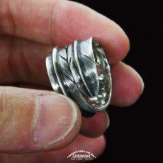 画像5: 指輪/ダブルフェザーリング/Silver/シルバーアクセサリー/silver950 (5)