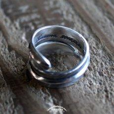 画像6: 指輪/ダブルフェザーリング/Silver/シルバーアクセサリー/silver950 (6)