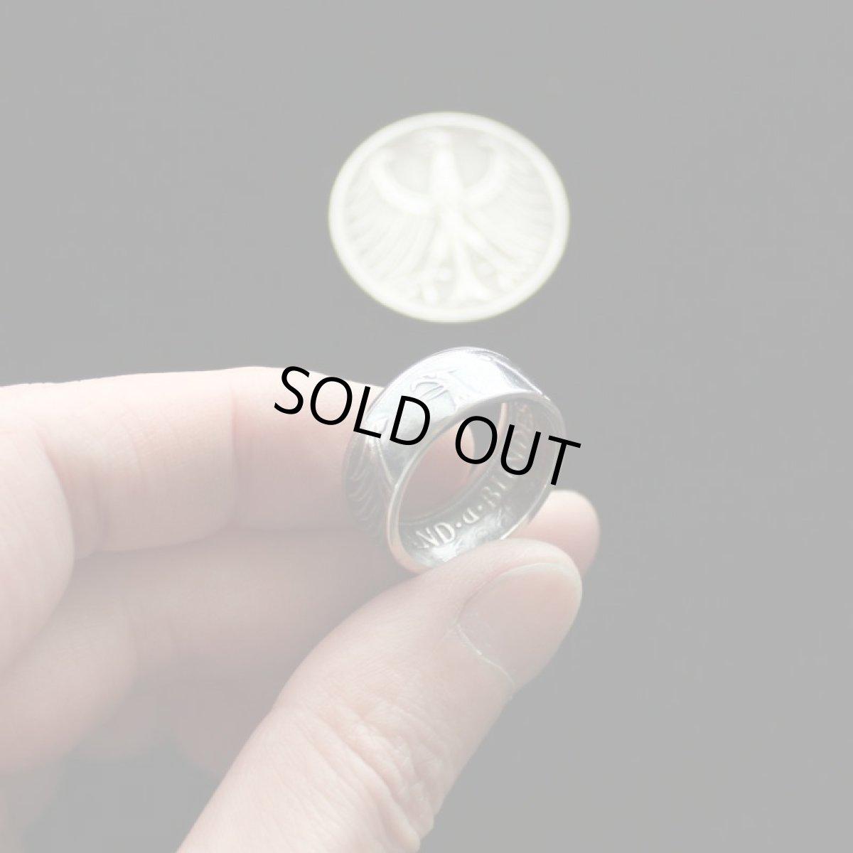5マルク銀貨コインリング