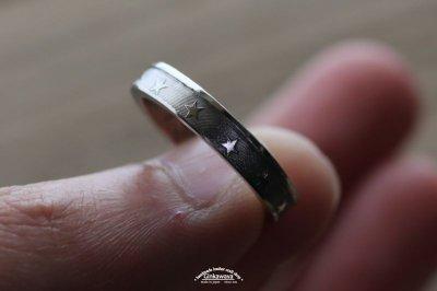 画像3: 指輪/スターコインリング/シルバー色