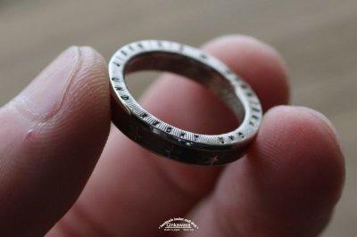 画像2: 指輪/スターコインリング/シルバー色