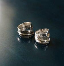 画像3: 指輪/フェザーリング/羽/silver950/7号〜30号 (3)
