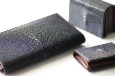 画像1: 【フルオーダーメイド】ガルーシャ長財布・名刺入れ・小銭入れ3点セット (1)
