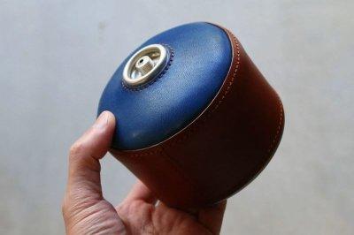 画像2: ガスカートリッジカバー/OD缶カバー/キャンプ用品/アウトドア用品/革製/ヌメ革