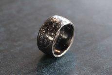 画像11: 指輪/甲丸リング/極太モルガンコインリング/モルガンダラー銀貨/silver900 (11)
