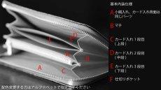 画像9: 【フルオーダーメイド】 長財布/ロングウォレット/L字ファスナー仕様/カスタム/オリジナル/一点もの (9)