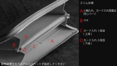 画像10: 【フルオーダーメイド】 長財布/ロングウォレット/L字ファスナー仕様/カスタム/オリジナル/一点もの (10)