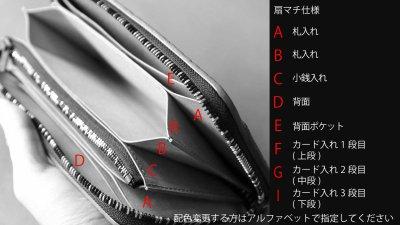 画像3: 【フルオーダーメイド】 長財布/ロングウォレット/L字ファスナー仕様/カスタム/オリジナル/一点もの