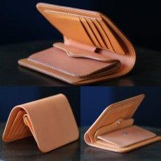画像3: 【カラーオーダー対応】 財布/ミドルウォレット/スタンダードデザイン/牛革/ヌメ革 (3)