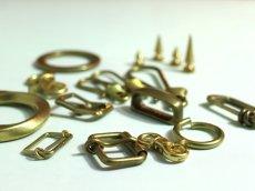 画像2: 定番金具(ニッケル製、鉄製、真鍮無垢製) (2)