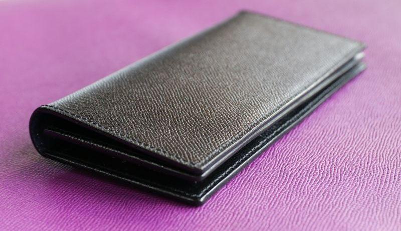 画像1: 【フルオーダーメイド】紳士向け長財布 (1)