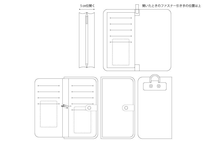 画像1: レザーアイテム/フルオーダーメイド/デザイン提案 (1)