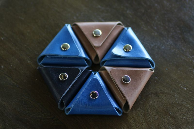 画像1: 指輪用ケース/本革製 (1)