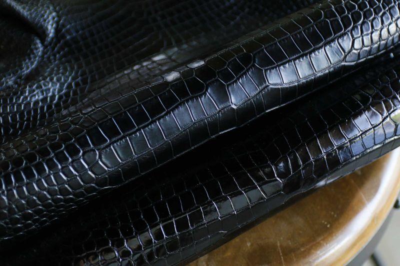 画像1: ワニ革/クロコダイル/シャムワニ/スモールクロコ/ナイルクロコ (1)